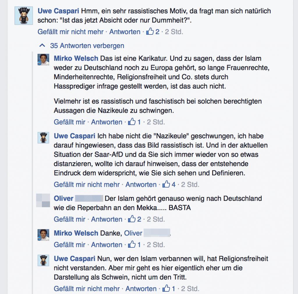 Mirko Welsch Rassismus Diskussion 01