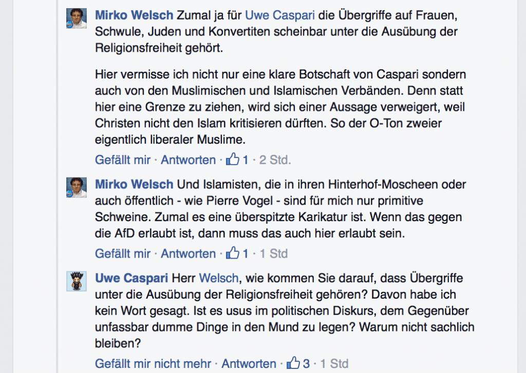 Mirko Welsch Rassismus Diskussion 02