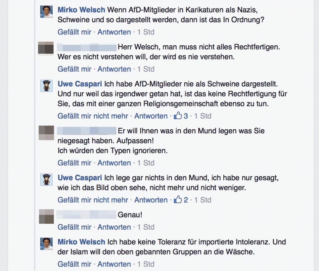 Mirko Welsch Rassismus Diskussion 03