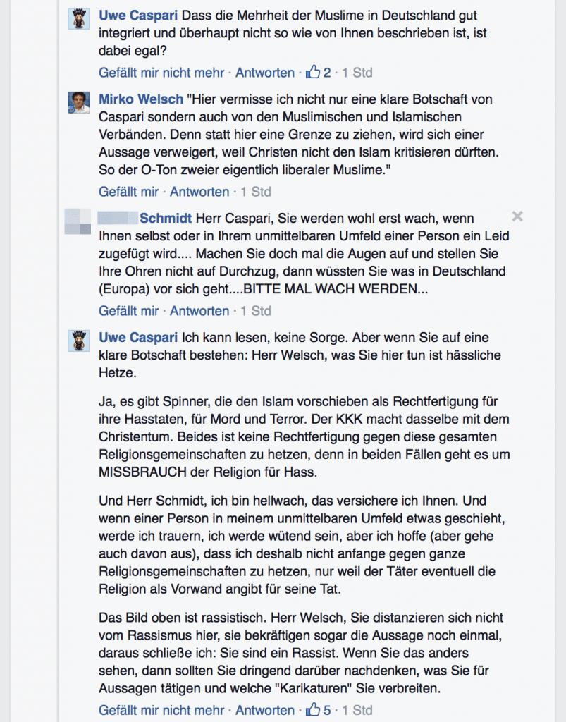 Mirko Welsch Rassismus Diskussion 04
