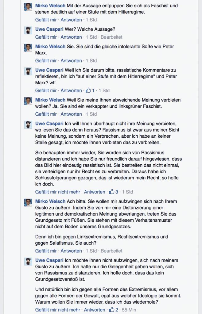 Mirko Welsch Rassismus Diskussion 05