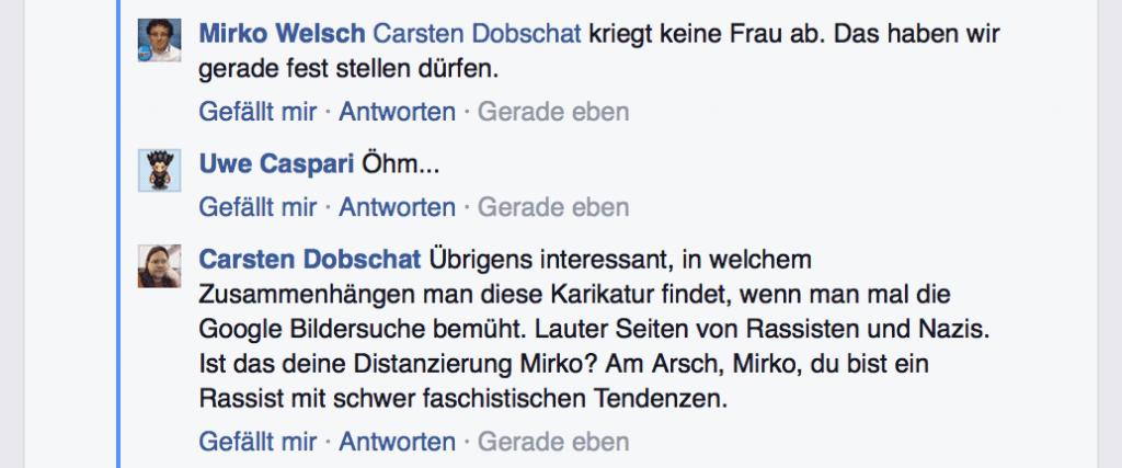 Mirko Welsch Rassismus Diskussion 07