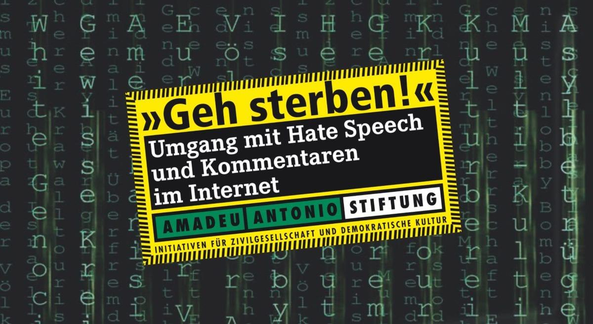 Amadeu Antonio Stiftung: Hatespeech, Meinungsfreiheit und Zensur