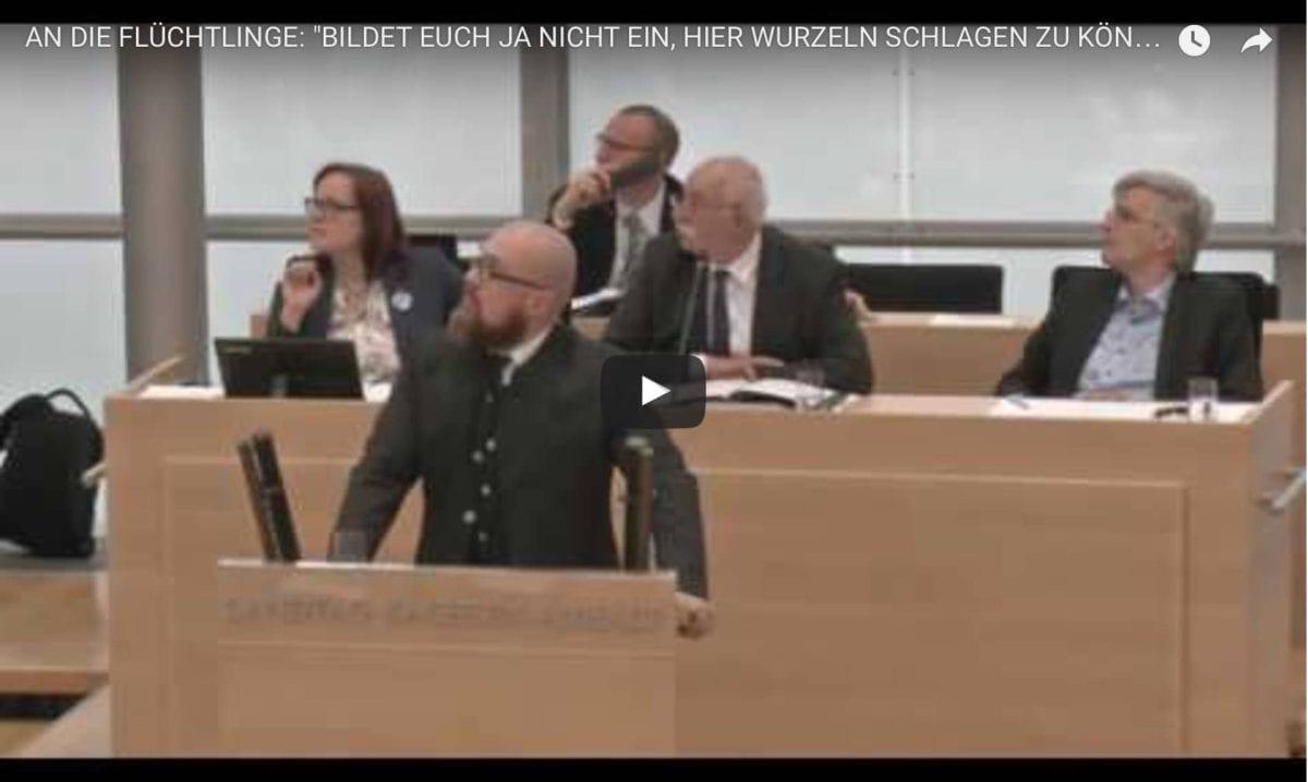 """An Hans-Thomas Tillschneider: """"Du bist ein widerlicher Rassist!"""""""